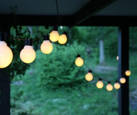 Φωτεινή γιρλάντα εξωτερικού χώρου Opal