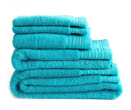 Sada 2 uteráky Lisa Turquoise 30x50 cm