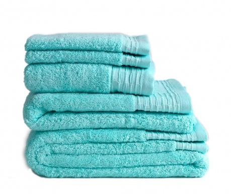 Sada 2 uteráky Lisa Aqua 30x50 cm