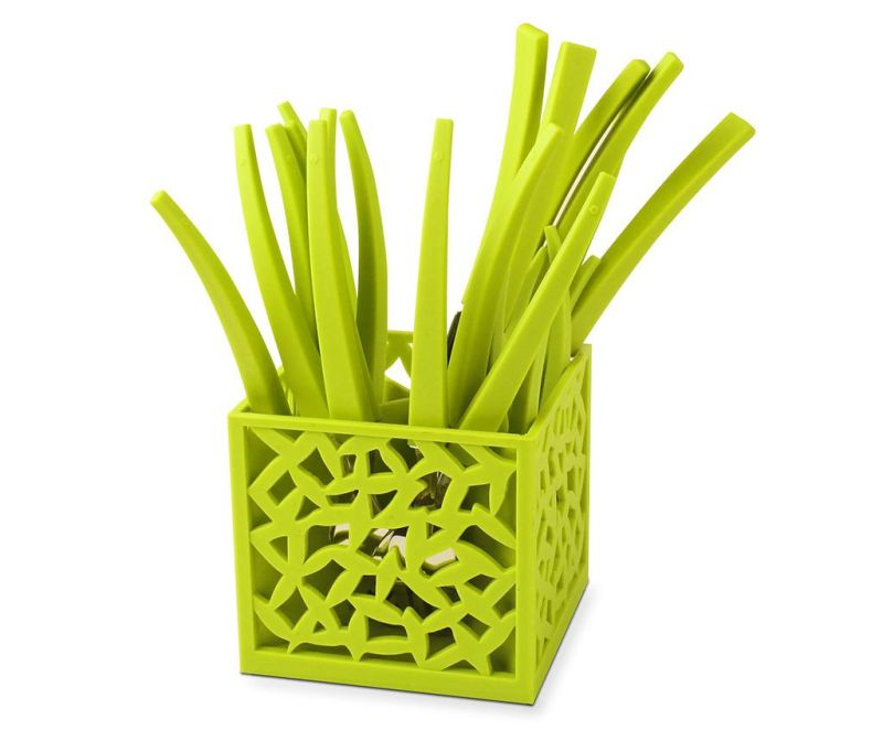 Mia Green 24 darabos Evőeszköz készlet és tartó