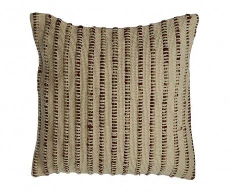 Stripes Brown Díszpárna 45x45 cm