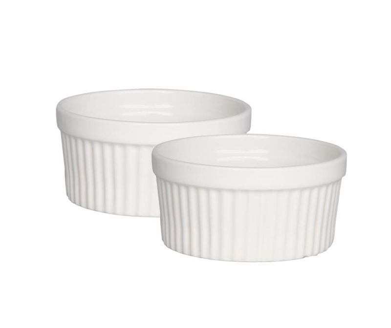 Set 2 boluri Ramekin Pure White