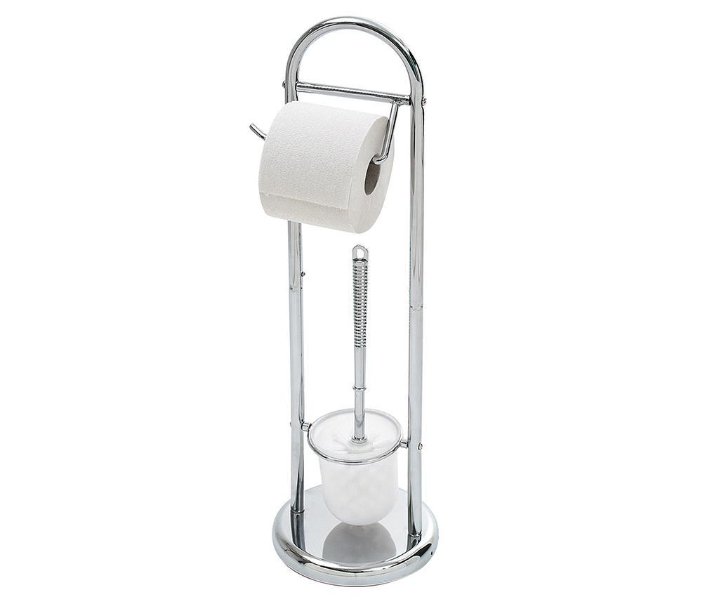 Suport pentru hartie igienica si perie de toaleta Roller