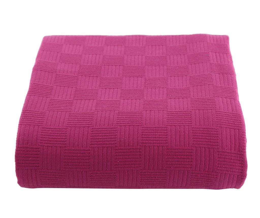 Prekrivač Pique Dante Fuchsia 220x260 cm