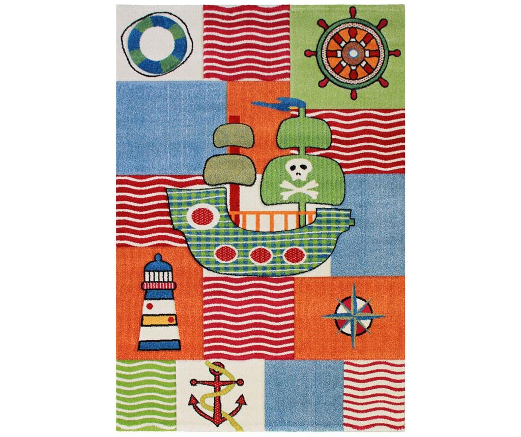 Ship Multicolor Szőnyeg 80x150 cm