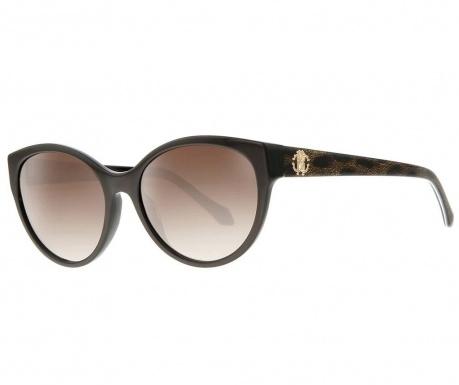 Дамски слънчеви очила Roberto Cavalli Oval Brown