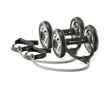 Set gantere cu benzi elastice Power Wheelz