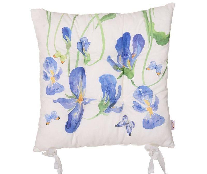Perna de sezut Iris and Butterfly 37x37 cm