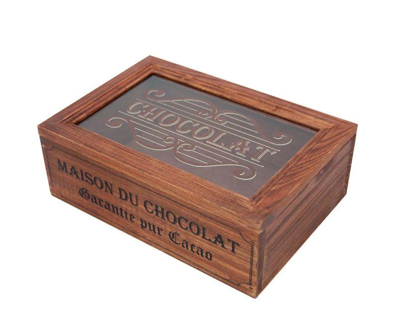Škatla s pokrovom Maison du Chocolat