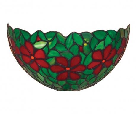 Tiffany Green Fali lámpa