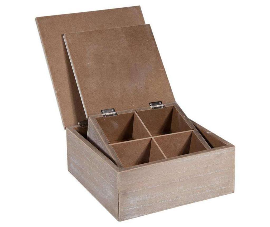 Sada 2 krabic s víkem Sharie