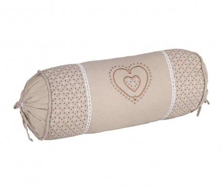 Διακοσμητικό μαξιλάρι Irene Round 16x40 cm