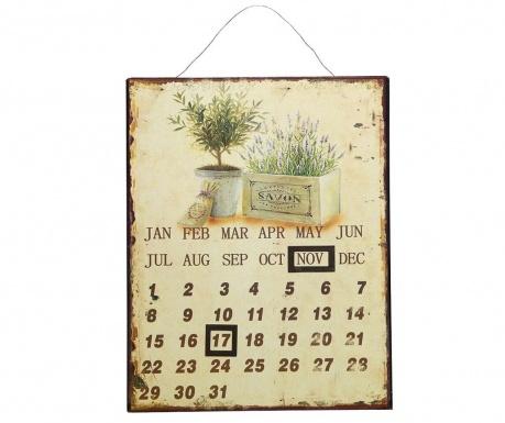 Ημερολόγιο τοίχου Lavender