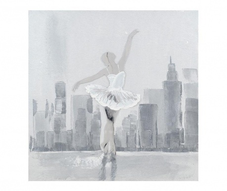 City Ballerina Festmény 80x80 cm