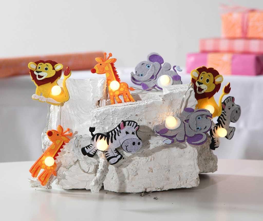 Svjetleća girlanda Jungle Friends 140 cm