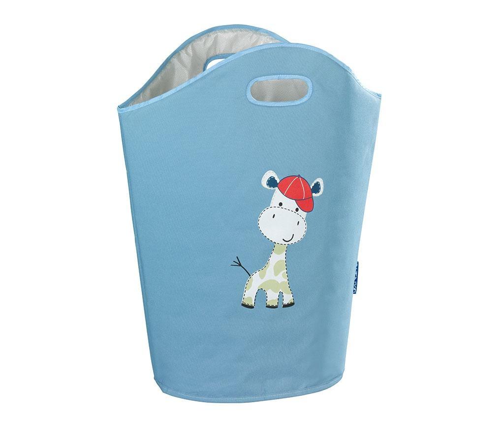 Koš za perilo Baby Giraffe Blue 24 L