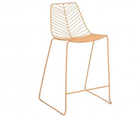 Krzesło barowe Shirin Orange