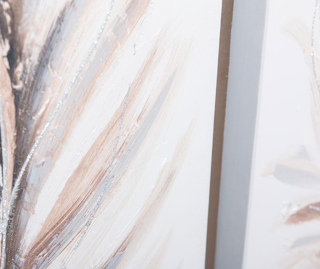 Set 2 tablouri Dabria Feather 40x80 cm