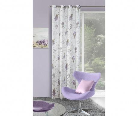 Závěs Sendi White Purple 140x250 cm