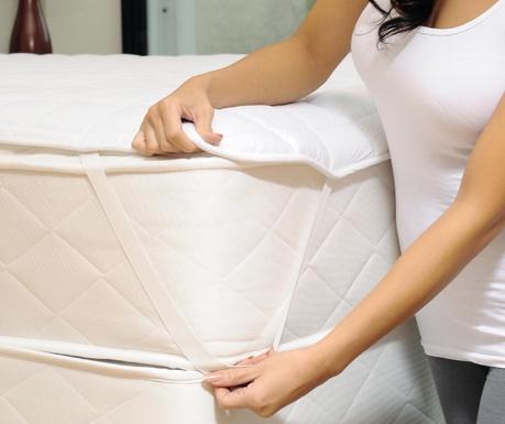 Protectie matlasata pentru saltea Waterproof 160x200 cm