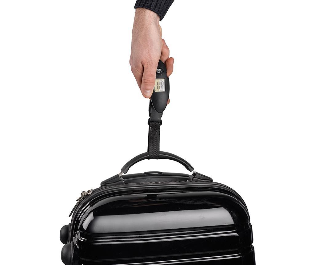 Digitalna tehtnica za prtljago Manny Black