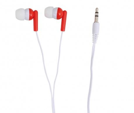 Slušalke Plain Red