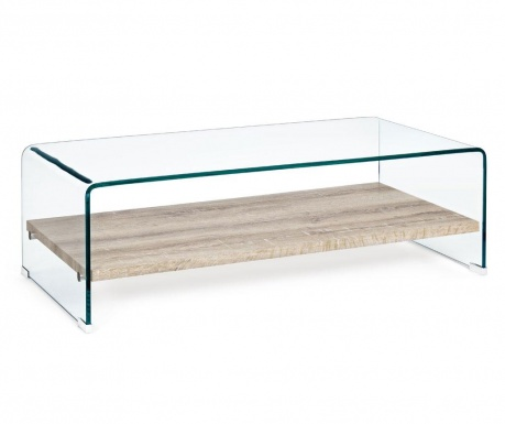 Kenya Glass Dohányzóasztal