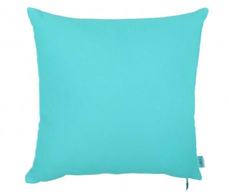 Thoughts Turquoise Blue Párnahuzat 41x41 cm