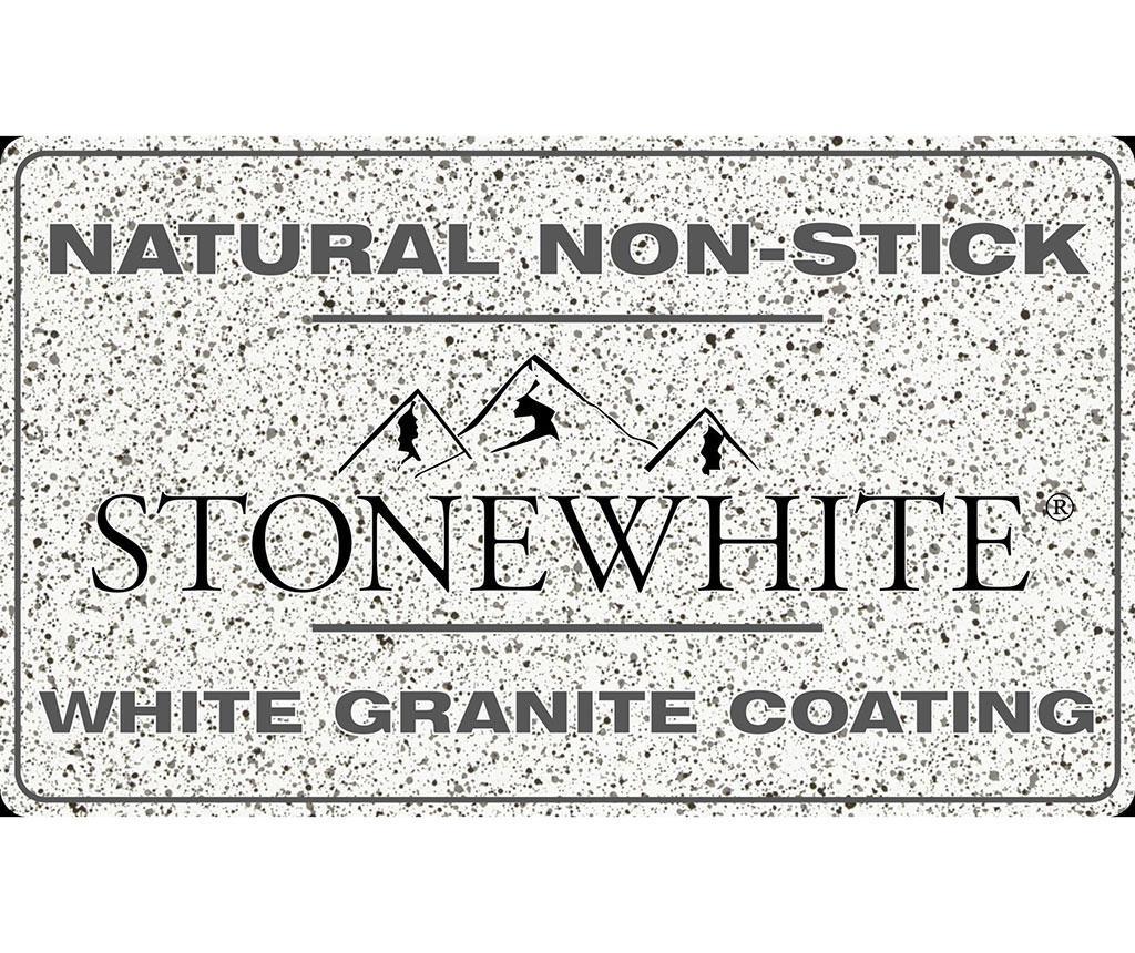Stonewhite Shiny Lábas fedővel 2.36 L