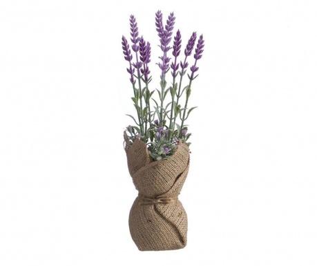 Lavanda Tela Light Purple Műnövény virágcserépben