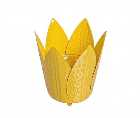 Свещник Tulip Yellow