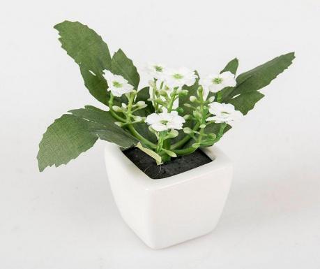 Joya White Művirág virágcserépben