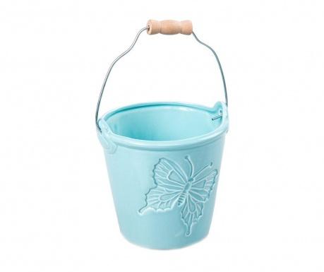 Butterfly Bucket Blue Virágcserép