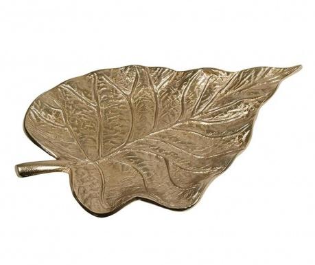 Leaf Charm Dísztál