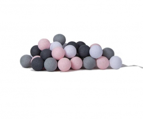 Φωτεινή γιρλάντα Favorites Pink Grey