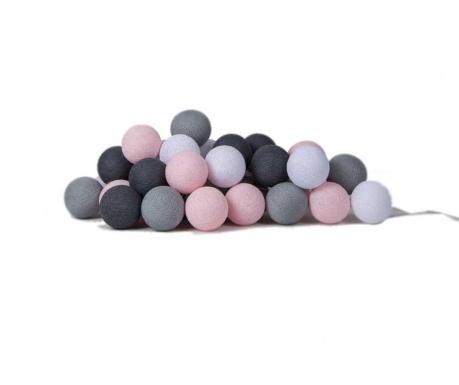 Favorites Pink Grey Fényfüzér