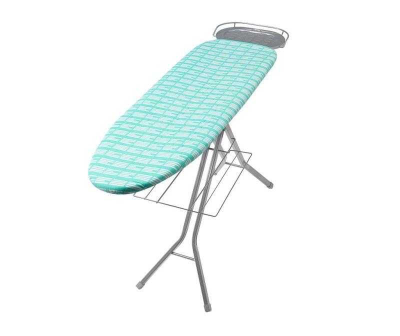 Husa pentru masa de calcat Perfect Fit Stripe Aqua Green 46x135 cm