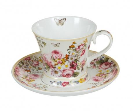 Bloom White Csésze és kistányér