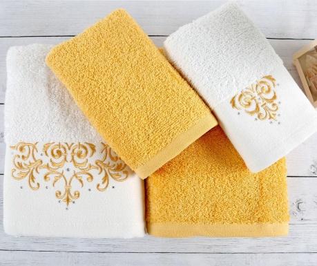 Комплект 4 кърпи за баня Flossy White