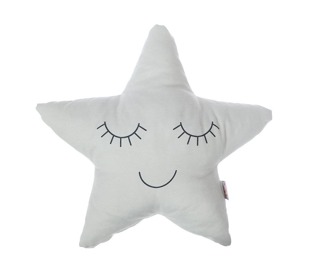 Okrasna blazina Happy Star Grey 35x35 cm