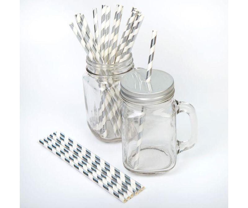 Set 25 slamic Stripes Silver