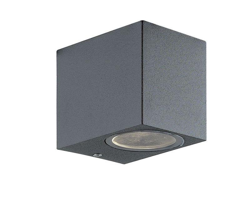 Vanjska zidna svjetiljka Tilos Dark Grey