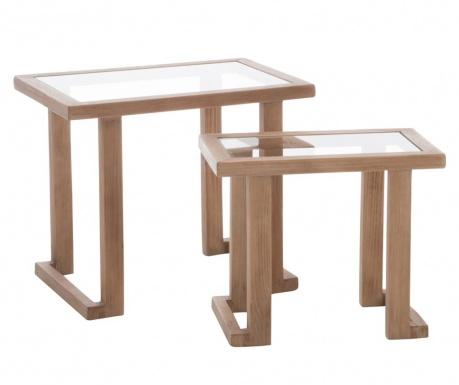 Set 2 stolića za kavu Indigo