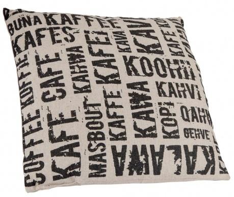 Dekorační polštář Cafe Pattern 45x45 cm