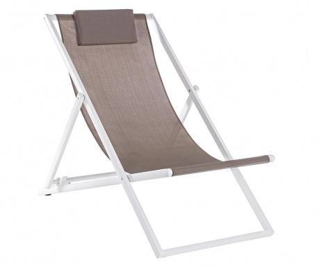 Plážová skladacia stolička Taylor Brown Tall