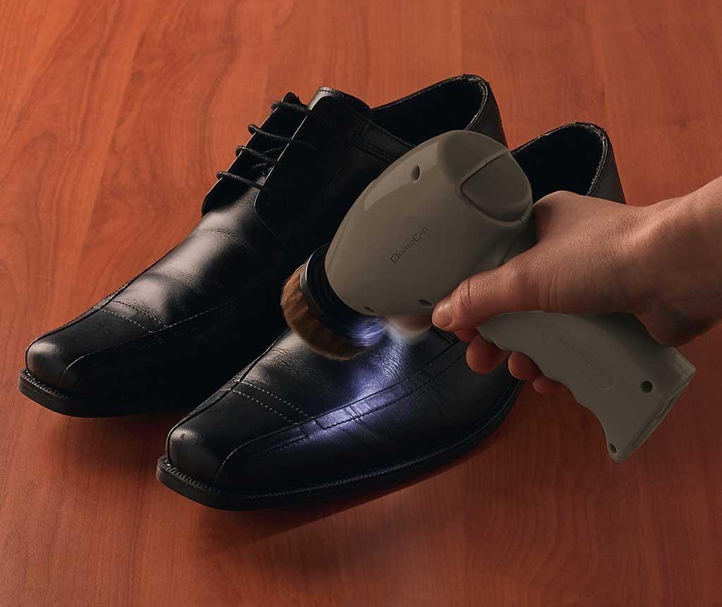 Perie electrica pentru pantofi Lura