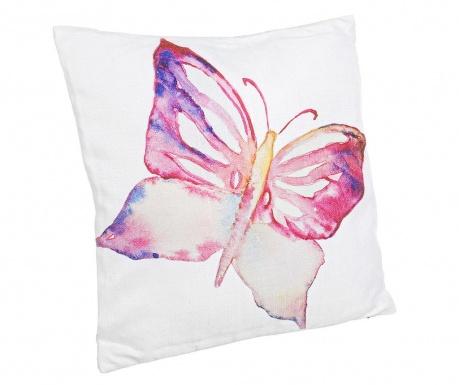 Poduszka dekoracyjna Aquarelle Butterfly 40x40 cm