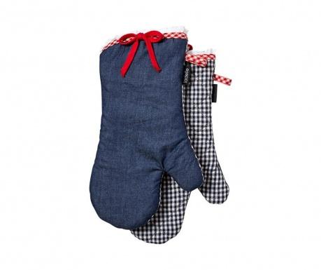 Комплект 2 кухненски ръкавици Anneliese