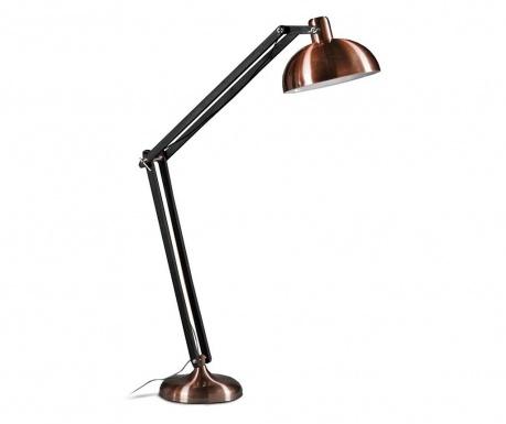 Podlahová lampa Dexter Rusty Chrome