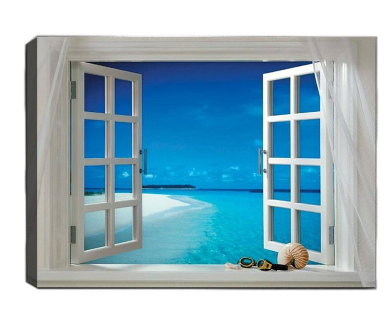 Slika Open Window 50x70 cm